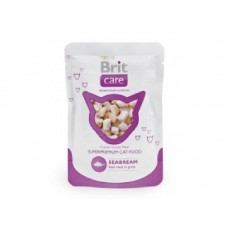 Brit Care Cat Seabream Pouch 80гр