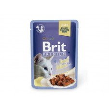 Brit Premium Beef Fillets Jelly 85гр
