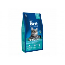 Brit Premium Cat Adult Sensitive Lamb 300гр